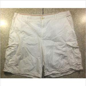 White Golf Shorts by IZOD with Cargo Pockets